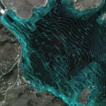 Canyon Ferry Lake - Bathymetry Data in Google Earth
