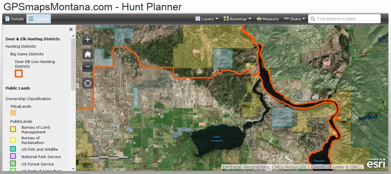 Welcome To Gpsmapsmontana Com S Free Online Hunt Planner Our Philosophy Here At Gpsmapsmontana Is That Everyone Should Have Access To Publicly Available