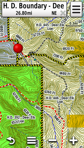 Hunting Districts 2019   GPS Maps for Montana